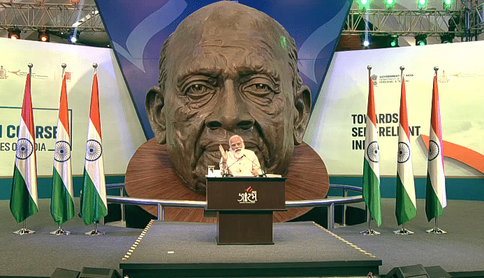 Prime Minister Participates In The Ekta Diwas Celebrations At Kevadia, Gujarat