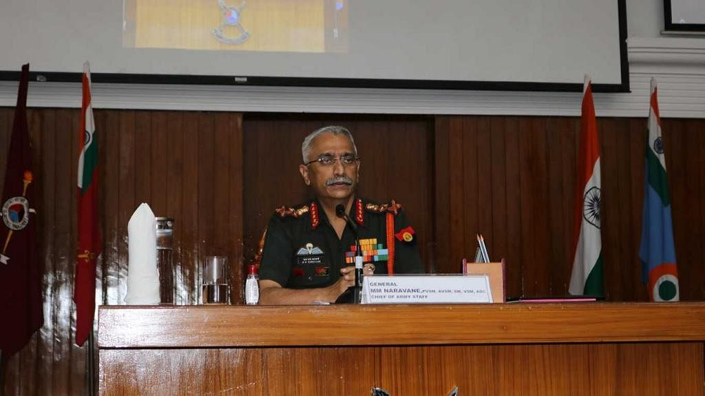 Chief Of Army Staff Visits College Of Defence Management And Bison Division, Secunderabad Cantonment