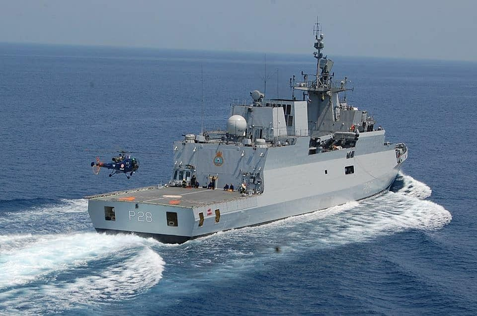 Indian Navy–Sri Lanka Navy To Undertake Maritime Exercise SLINEX-20 Off Trincomalee From Monday