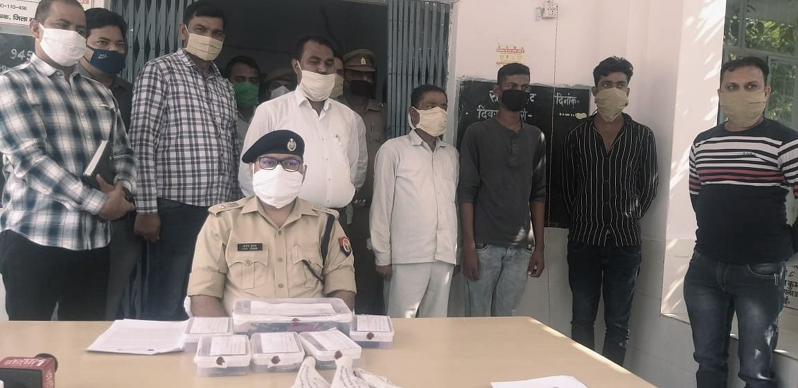 Robbers Who Spilled Nails And Then Waylaid Vehicles With Flat Tyres On Agra-Lucknow E-Way Arrested By Mainpuri Police