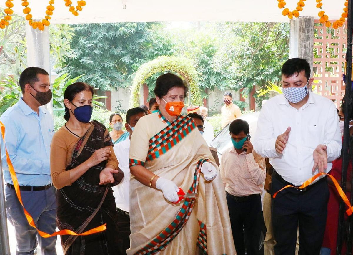 संयुक्ता भाटिया ने किया 'नारी उत्थान' विषय पर अभिलेख प्रदर्शनी का उद्घाटन