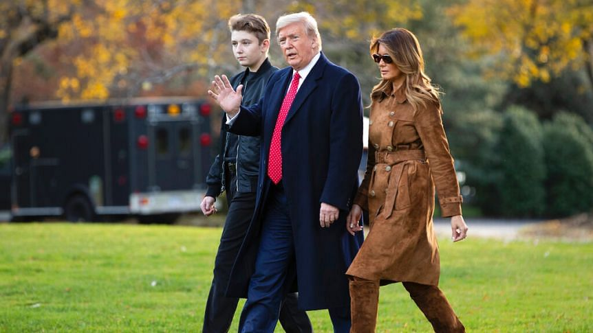 Donald Trump's 14-Year-Old Son Barron Was Also Infected By Coronavirus