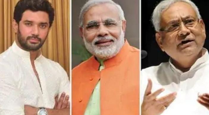 एलजेपी के एनडीए से अलग होने पर भाजपा मौन, चिराग ने चुनाव के बाद की लिखी पटकथा