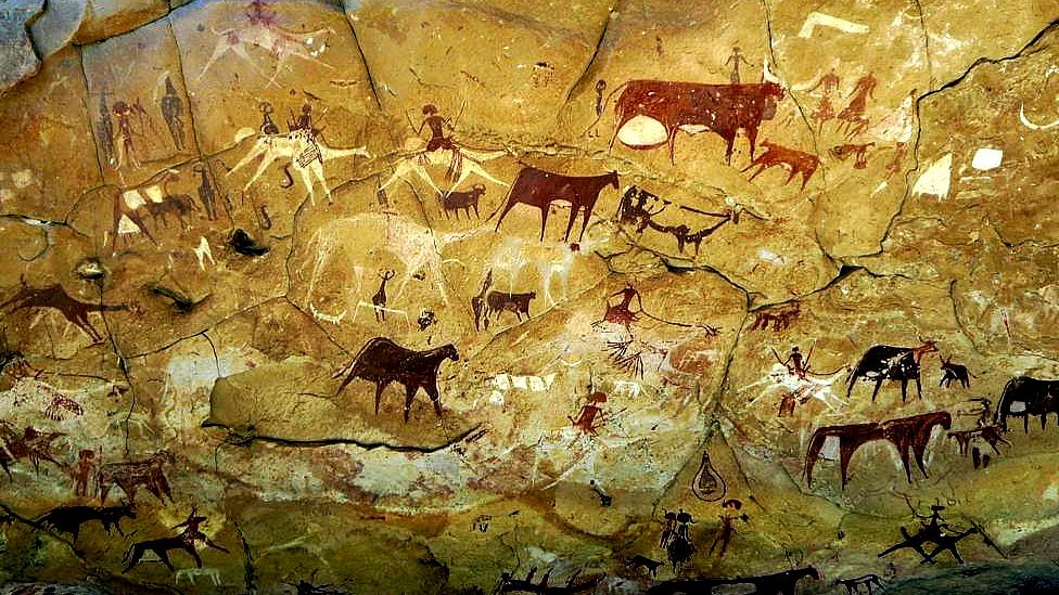 Pre-Historic Cave Paintings Near Fatehpur Sikri In UP Threatened By Neglect
