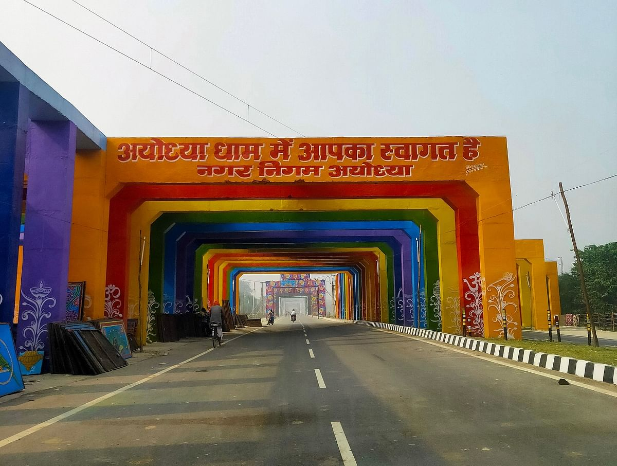 Ahead Of Deepotsav, Ayodhya Being Decked Up As A Bride To Welcome Lord Ram