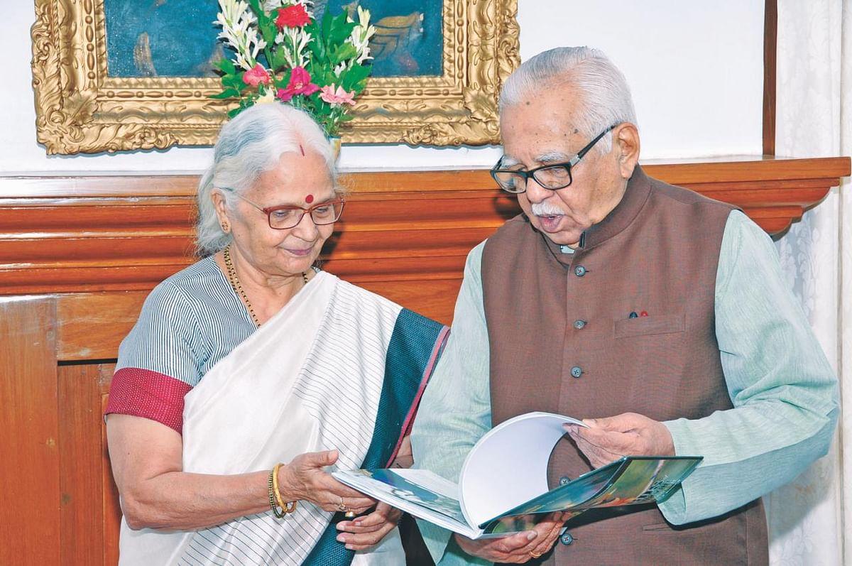 "Ram Naik Mourns Demise of ""Younger Sister"" Mridula Sinha"