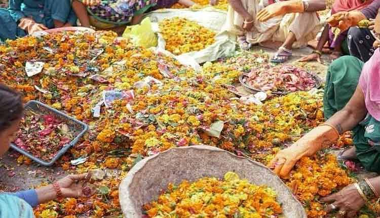 Flowers Offered At Guru Gorakshnath Temple To Be Used To Manufacture Incense Sticks
