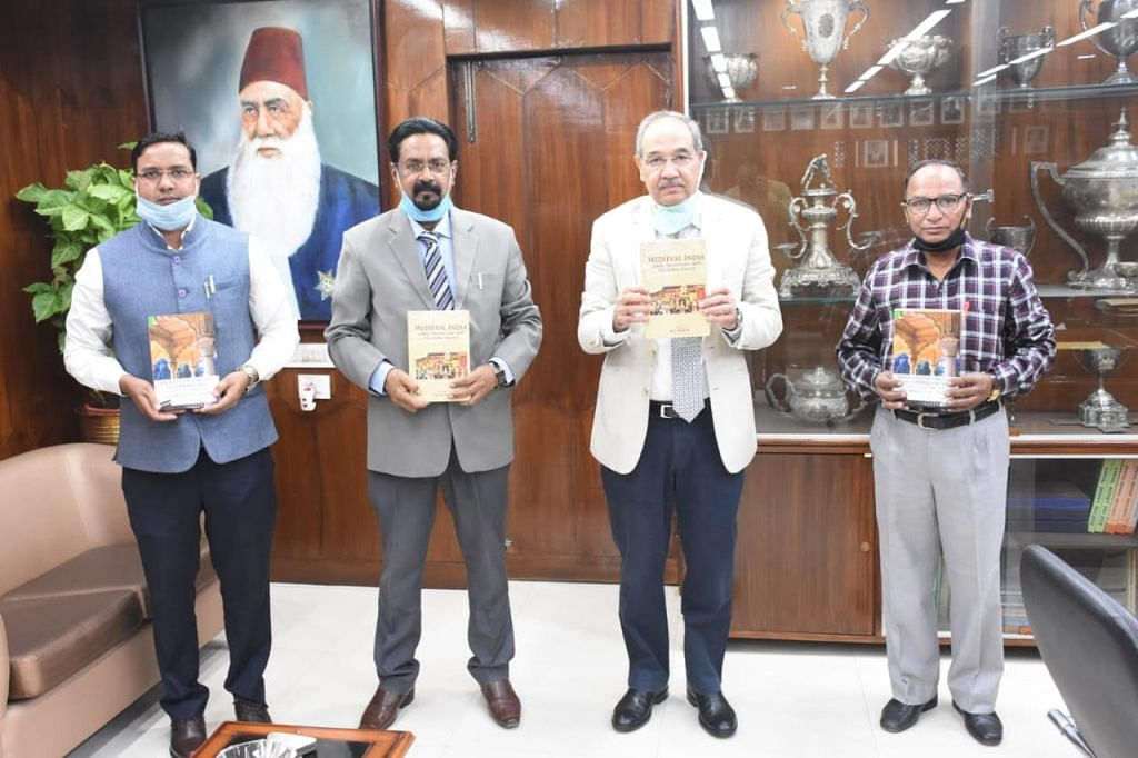 Vice-Chancellor Of Aligarh Muslim University Releases Two Books