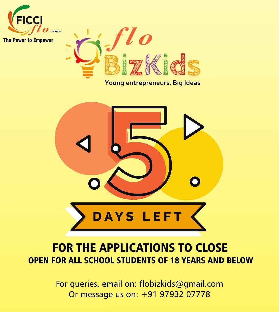 फिक्की फ्लो ने प्रतिभाशाली छात्रों के लिए किया प्रतियोगिता का आयोजन