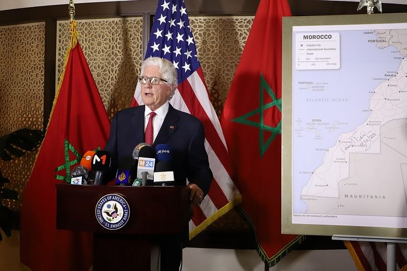 US Ambassador To Morocco Presents Full Map Of Morocco, Officially Adopted By His Government