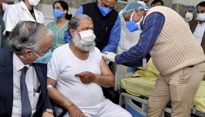 Haryana Health Minister Who Got A Coronavirus Vaccine Shot Tests COVID Positive