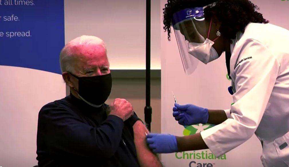 US President-Elect Joe Biden Takes Coronavirus Vaccine
