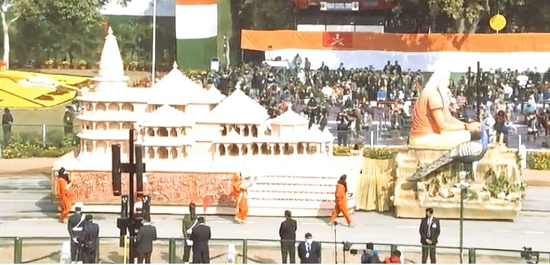 UP's 'Ram Mandir' Tableau Receives Roaring Applause At Republic Day Parade At Rajpath