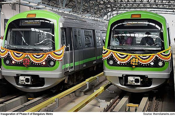 Phase-2 Of Bengaluru Metro Inaugurated