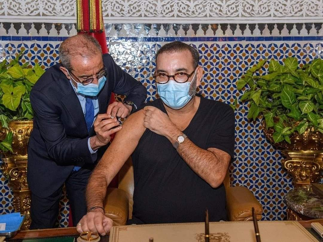 Moroccan King Mohammed VI Takes First Shot Of COVID Vaccine, Launches Nationwide Drive