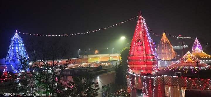 Hanuman Setu Temple In Lucknow Celebrates Its 54th Foundation Day