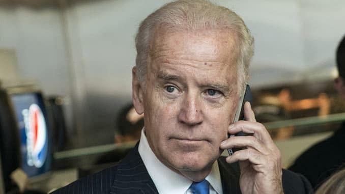 US President Biden Makes Phone Call To NATO Secretary-General