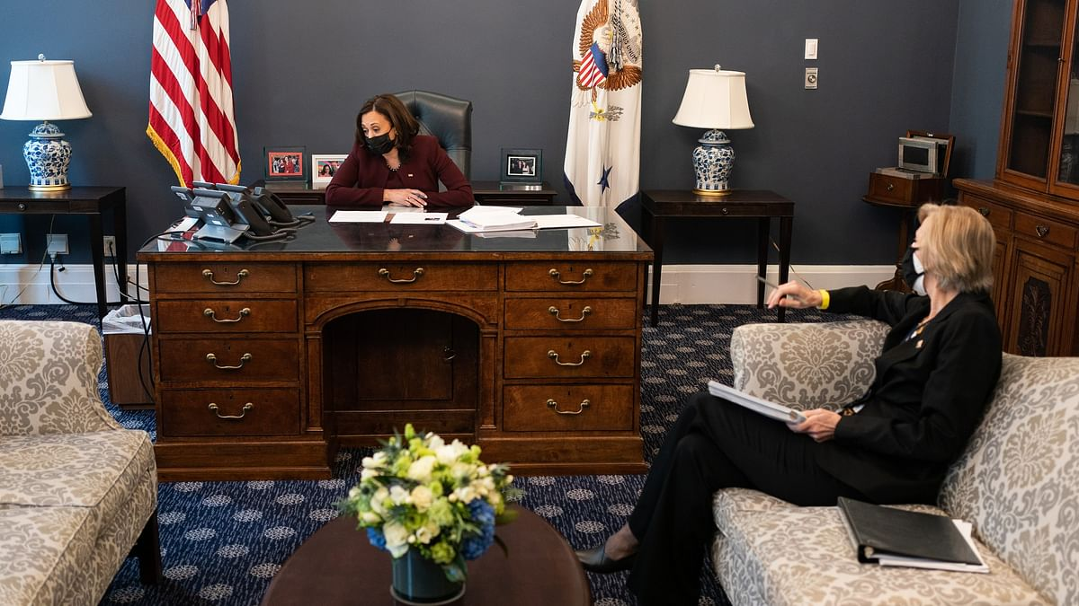 Kamala Harris Speaks To WHO Director General, Discusses Steps To Contain COVID