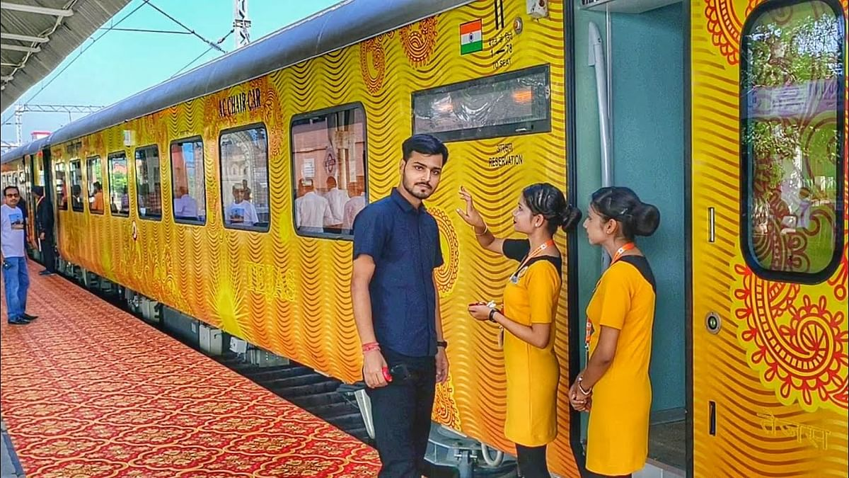Two Tejas Trains To Resume Services From Monday