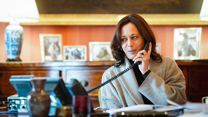 Kamala Harris Dials Emmanuel Macron, Discuss Climate Change And Other Issues Facing The World
