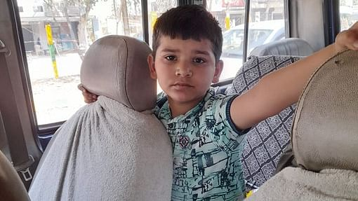 Kid Loses Way To Home, Ghaziabad Police Safely Hand Him Over To Worried Parents