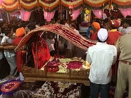 The Weekly Palki Procession In Shirdi Restarted After Almost Ten Months