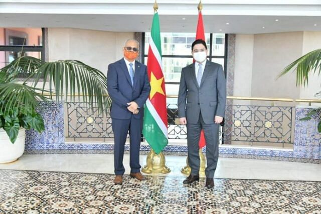 Morocco And Suriname Establish 2021-2024 Cooperation Roadmap