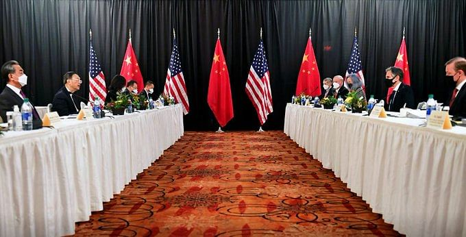 US-China Publicly Exchange Barbs At First Meeting In Alaska
