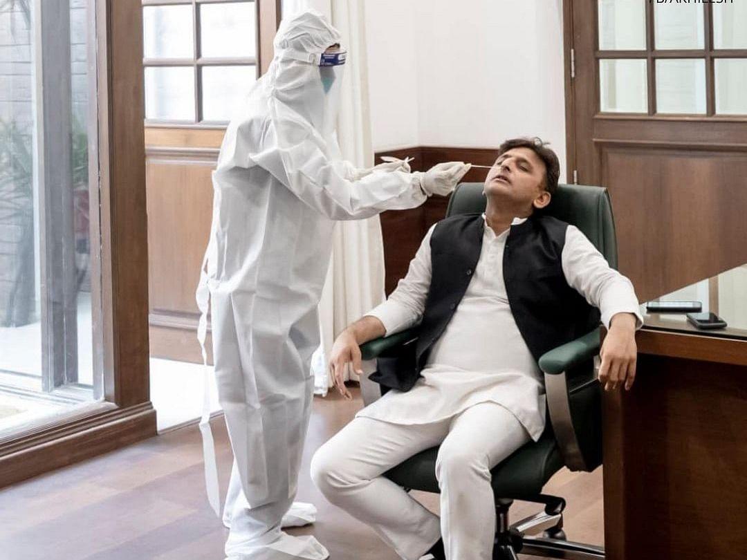 Samajwadi Party Chief Akhilesh Yadav Tests Positive For COVID
