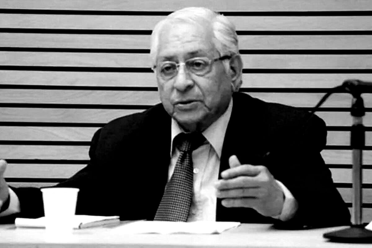 Former Attorney General Soli Sorabjee Dies Of COVID