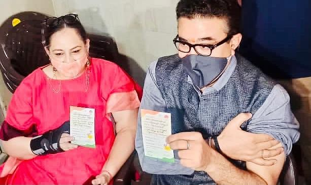 Bureaucrat Navneet Sehgal Takes First Shot Of COVID Vaccine, Urges Eligible People To Do The Same