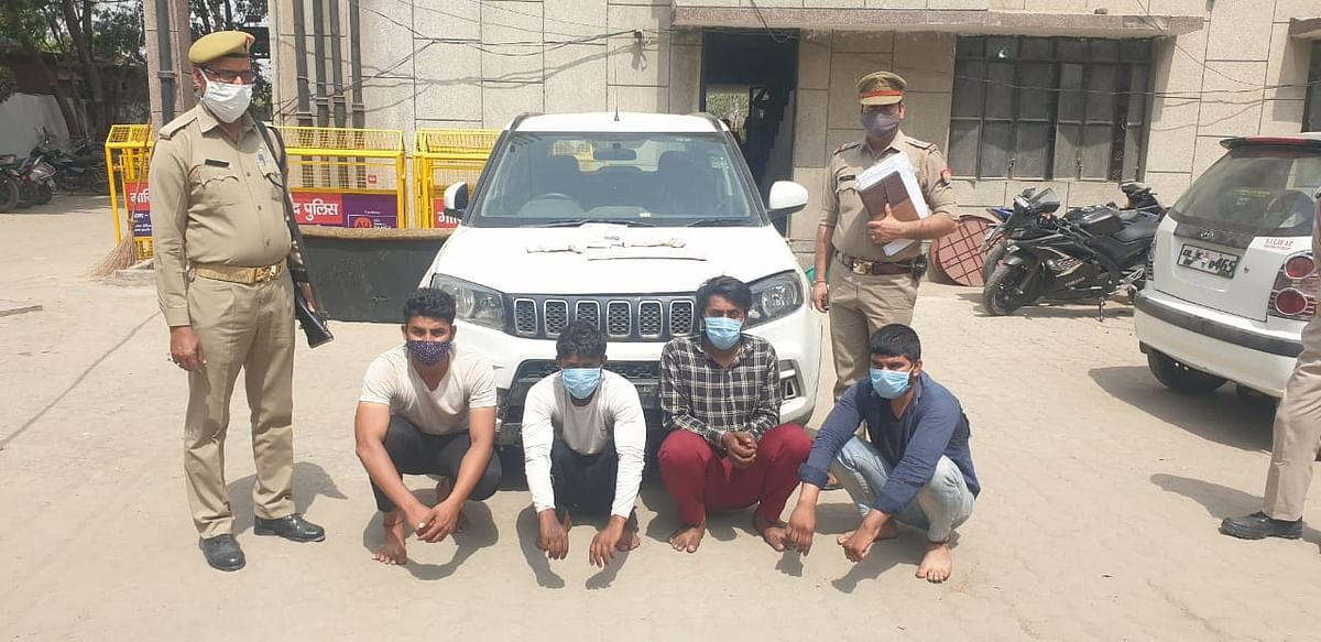 Ghaziabad Police Bust Gang Of Car Jackers In Indirapuram, Four Arrested