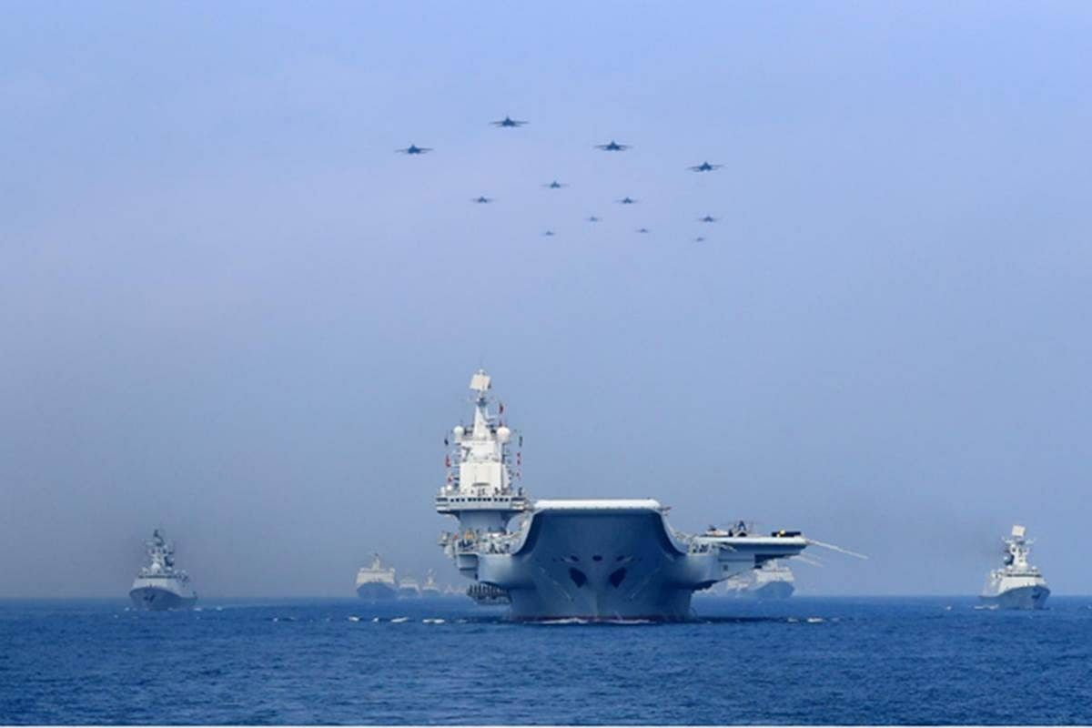 Modi's 'Chappan Inch Ka Seena' Shrivels As US Navy Warships Exercise In Indian Waters And Advertise It With Impunity!