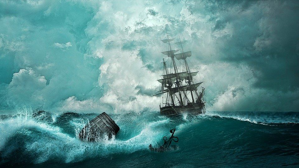 COVID 19, The Second Devastating Wave: Boats In A Storm