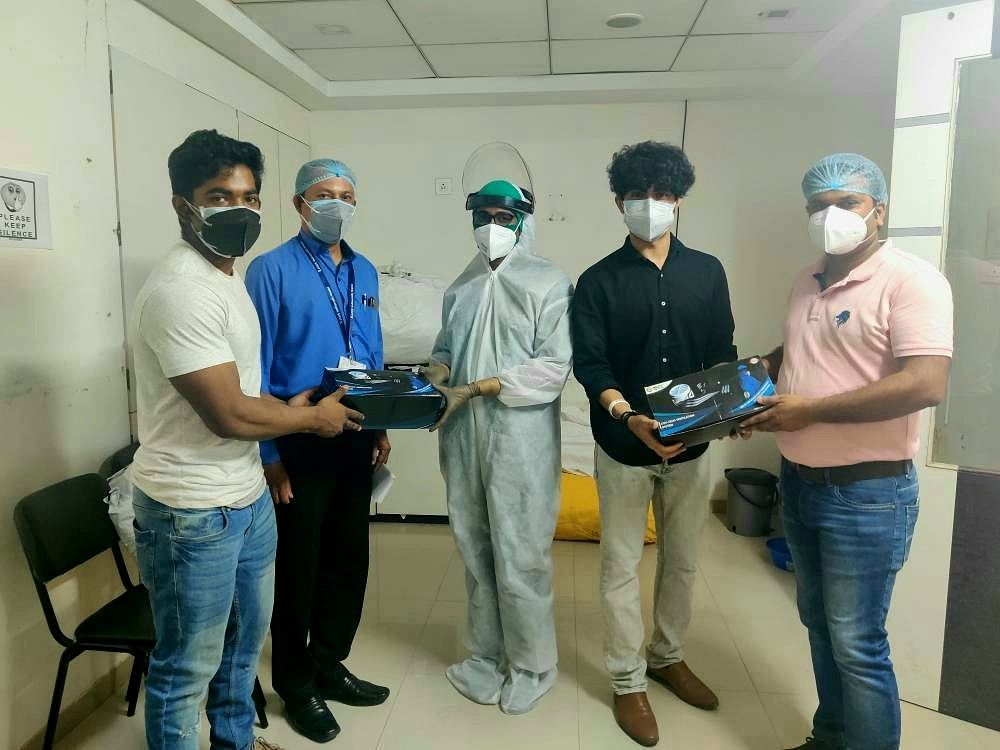 Pune-Based Startup Makes PPE Suits With Ventilation To Bring Relief To Sweating Health Workers