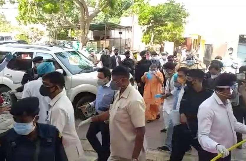 Yogi Adityanath Visits Brij Area: He Came, He Saw, He Went!