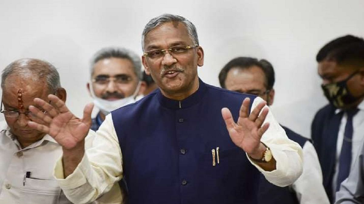 """Former Uttarakhand CM Trivendra Singh Rawat Calls Coronavirus """"A Living Being Which Had The Right To Live"""""""