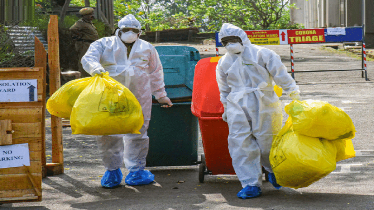 During COVID 46 Percent Increase In Biomedical Waste Generation In India In April- May 2021, Says CSE Study