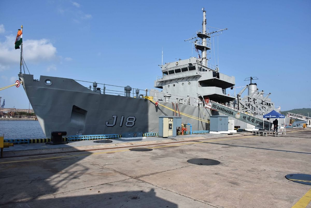 Indian Navy's Oldest Hydrographic Survey Ship INS Sandhayak Decommissioned