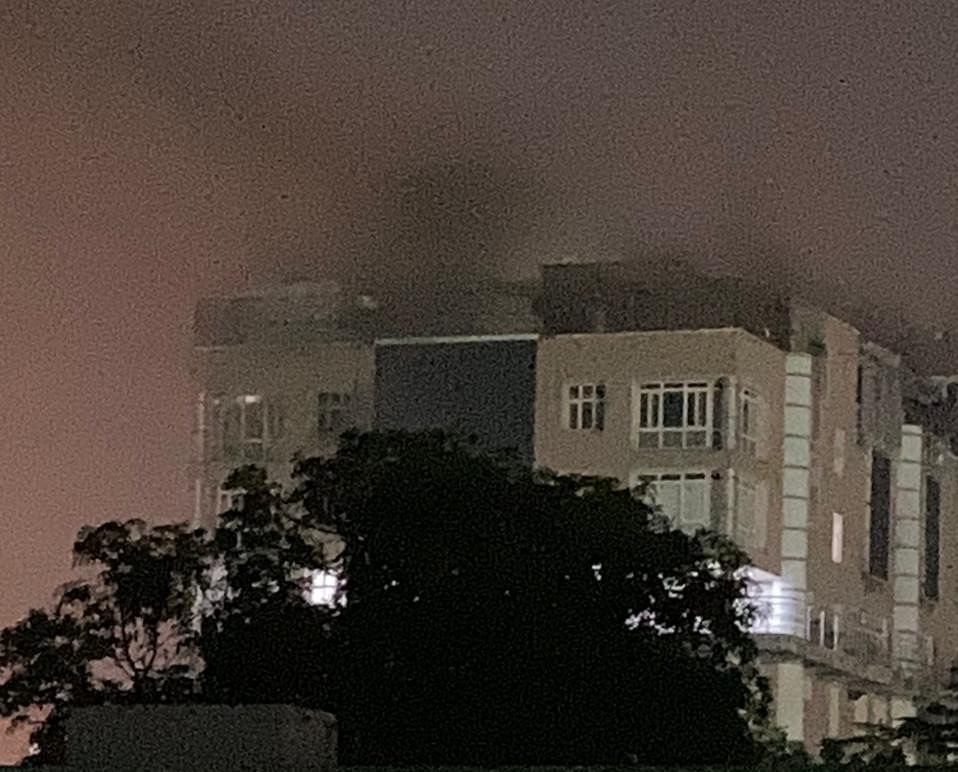 Late Night Blaze On The Ninth Floor Of AIIMS, Brought Under Control By 22 Fire Tenders