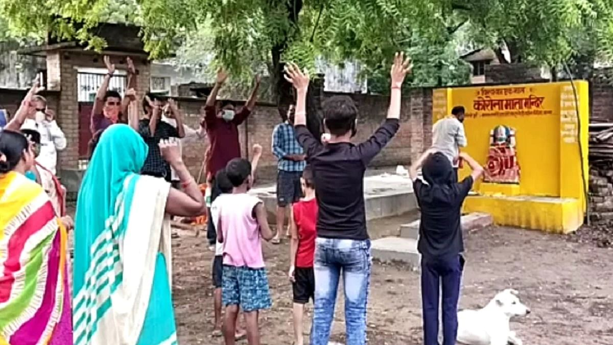 Villagers In UP Build 'Corona Mata' Temple, Police Demolishes It