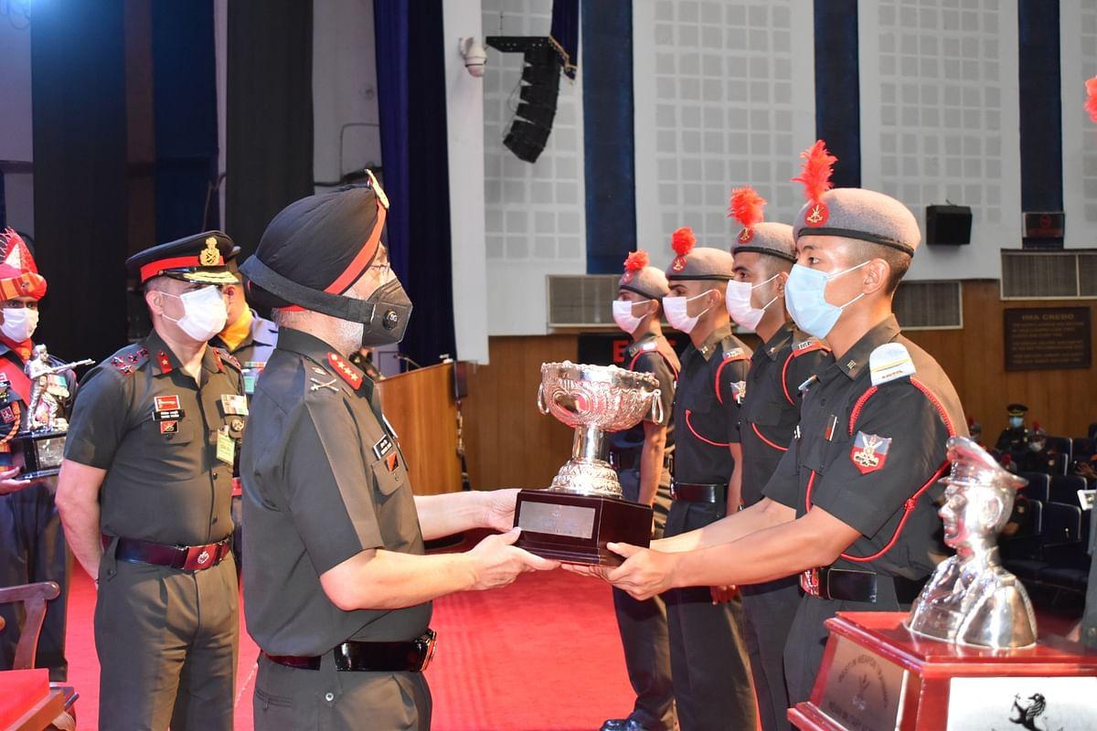 Gentleman Cadet From Bhutan Awarded Prestigious Trophy At The IMA