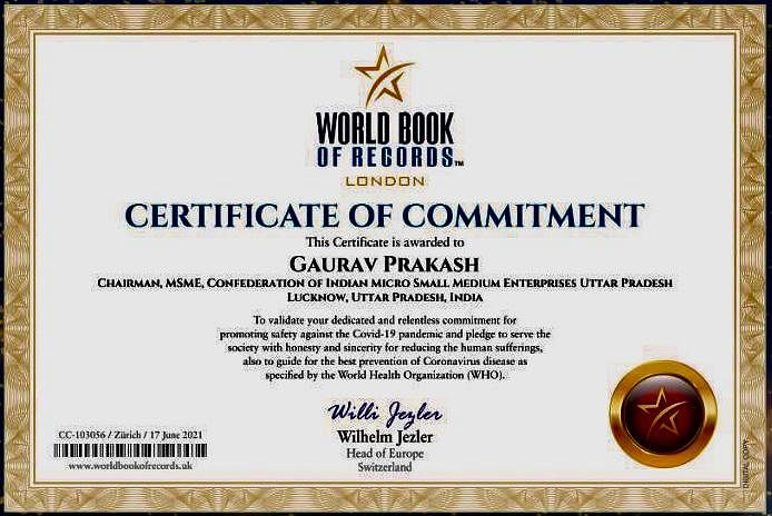 Lucknow Lad Goes Global, Appreciated For Commitment During Covid Pandemic