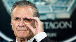 Former US Defense Secretary Donald Rumsfeld Dies At 88
