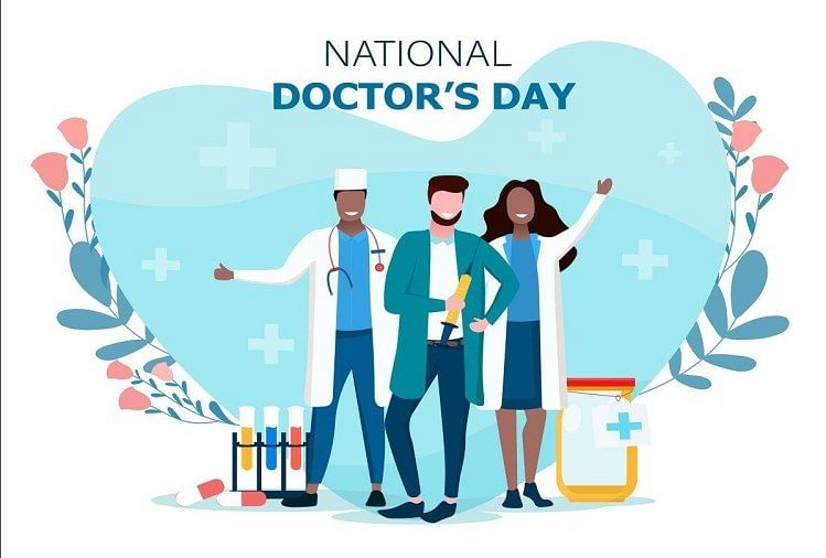 Yogi Greats Medical Fraternity On National Doctors Day