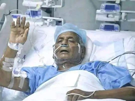 "Former UP Chief Minister Kalyan Singh ""Very Critical"" Yogi Visits Him At SGPGI"