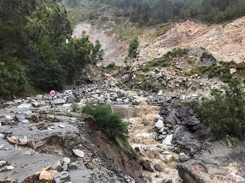 Monsoon Rains Wreak Havoc In Himachal, One Dead, Many Missing