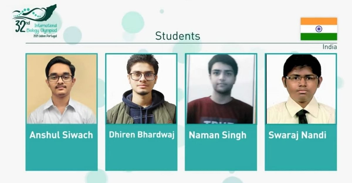 Indian Students Excel At International Biology Olympiad 2021