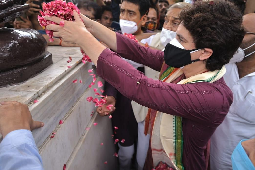 FIR Against Priyanka Gandhi In Lucknow For Violating Prohibitory Orders, Covid Protocol