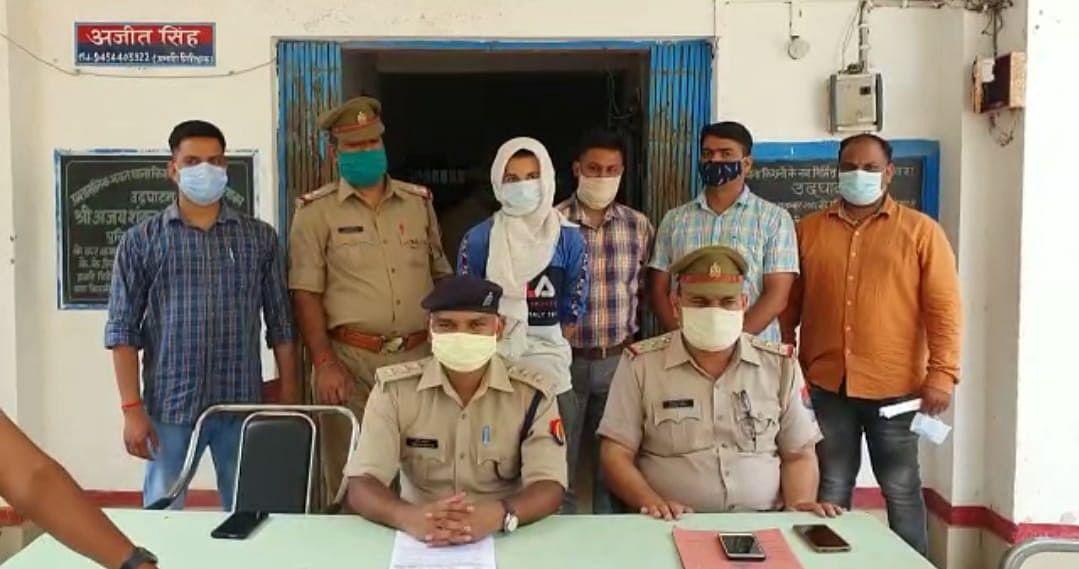 मैनपुरी पुलिस ने सोशल मीडिया पर अश्लील टिप्पणी करने वाले युवक को दबोचा, फोटो भेज करता था परेशान
